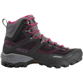 Mammut Ducan High GTX Chaussures Femme, phantom/dark pink